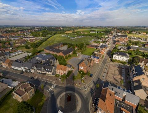 Kerktoren Zonnebeke